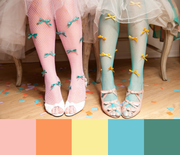 Daydream-In-Color-Color-Palette-Bow-And-Tulle