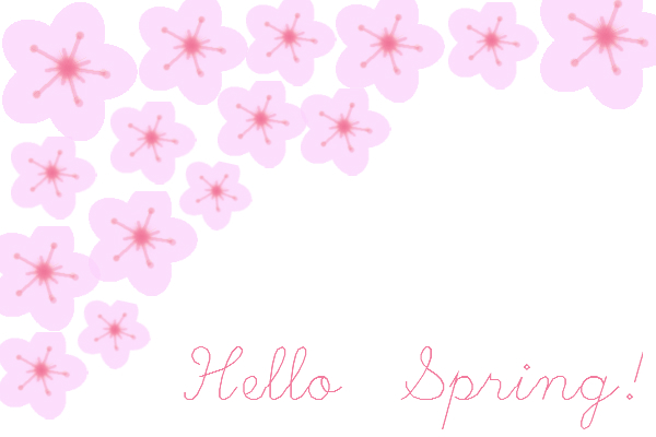 Daydream-In-Color-Freebie-Friday-Cherry-Blossom-Hello-Spring-Card