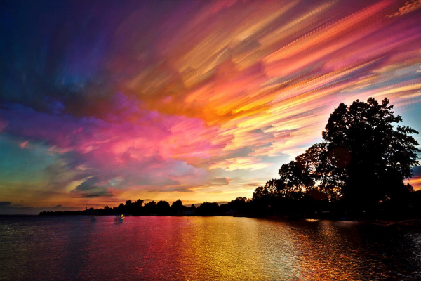 Daydream-In-Color-Wish-I-Was-Wednesday-Matt-Molloy-Cotton-Candy-Flying-Through-The-Sky