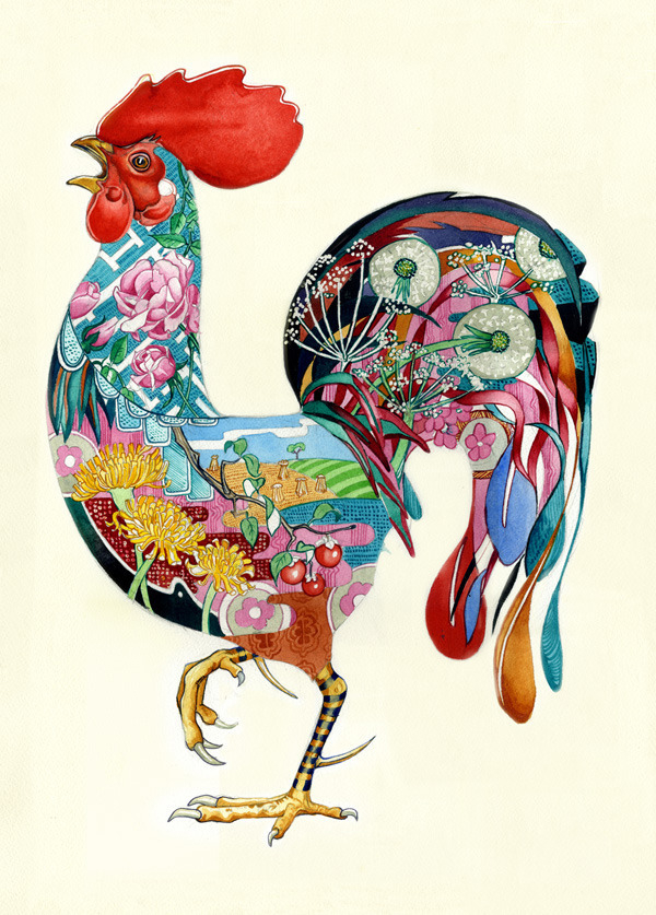 Daydream-In-Color-Wish-I-Was-Wednesday-Daniel-Mackie-Rooster