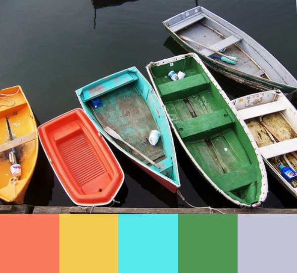 Daydream-In-Color-Color-Palette-Colorful-Rowboats