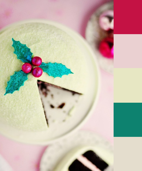 Daydream-In-Color-Color-Palette-Jolly-Holly-Cake