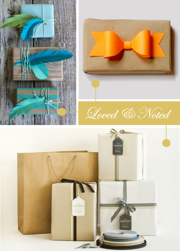 Daydream-In-Color-Loved-And-Noted-DIY-Paper-Feathers-Paper-Bows-Simple-Kraft-Boxes